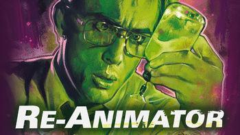 Netflix box art for Re-Animator