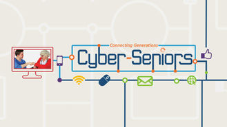 Netflix Box Art for Cyber-Seniors