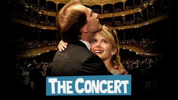 Netflix box art for The Concert