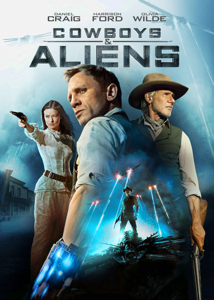 Cowboys and Aliens Netflix BR (Brazil)