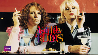 Netflix box art for Absolutely Fabulous - Season 1