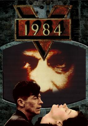 Netflix box art for 1984