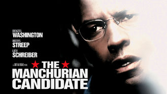 Netflix box art for The Manchurian Candidate