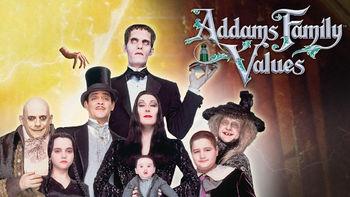 Netflix box art for Addams Family Values