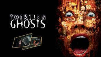 Netflix box art for 13 Ghosts