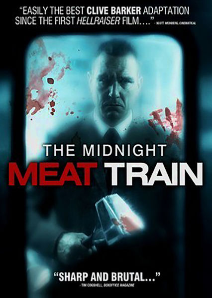 The Midnight Meat Train Netflix UK (United Kingdom)