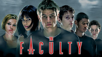Netflix box art for The Faculty