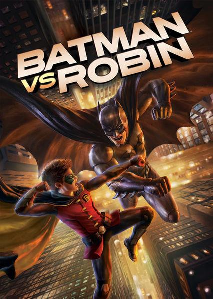Batman vs. Robin Netflix AU (Australia)