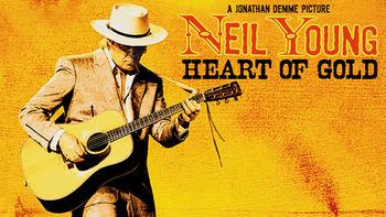 Netflix box art for Neil Young: Heart of Gold