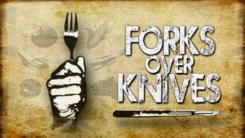 Netflix box art for Forks Over Knives