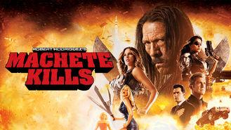 Netflix box art for Machete Kills