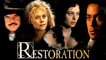 Netflix box art for Restoration