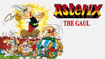 Netflix box art for Asterix the Gaul