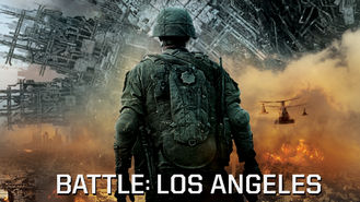 Netflix box art for Battle: Los Angeles