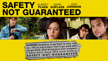 Netflix box art for Safety Not Guaranteed