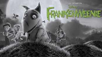 Netflix box art for Frankenweenie