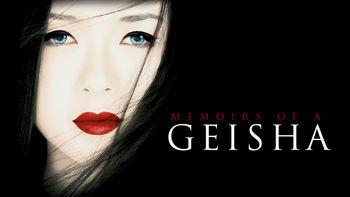 Netflix box art for Memoirs of a Geisha