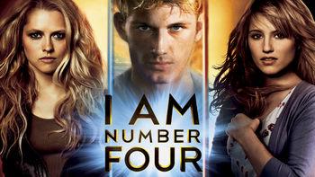 Netflix box art for I Am Number Four