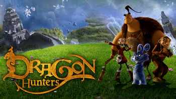 Netflix box art for Dragon Hunters