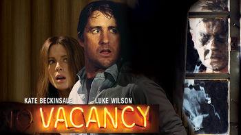 Netflix box art for Vacancy