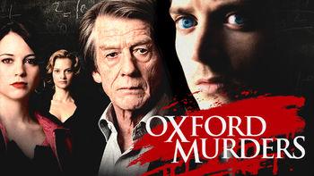 Netflix box art for The Oxford Murders