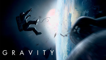 Netflix box art for Gravity