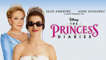 Netflix box art for The Princess Diaries