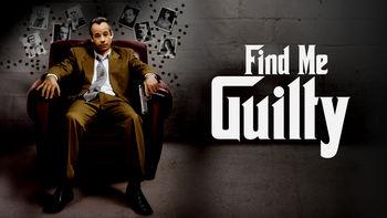 Netflix box art for Find Me Guilty