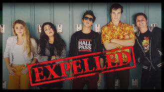 Netflix box art for Expelled