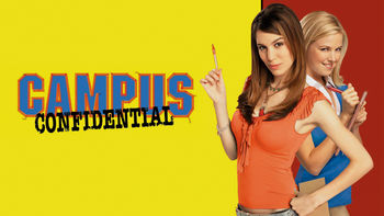 Netflix box art for Campus Confidential