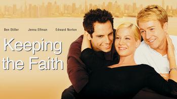Netflix box art for Keeping the Faith