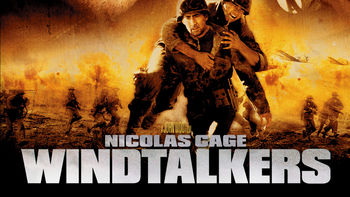 Netflix box art for Windtalkers