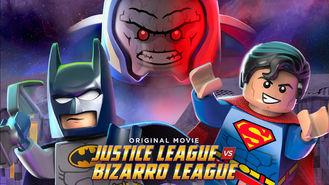 Netflix box art for Lego: Justice League vs. Bizarro League