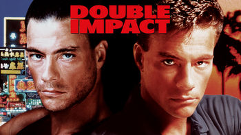 Netflix box art for Double Impact