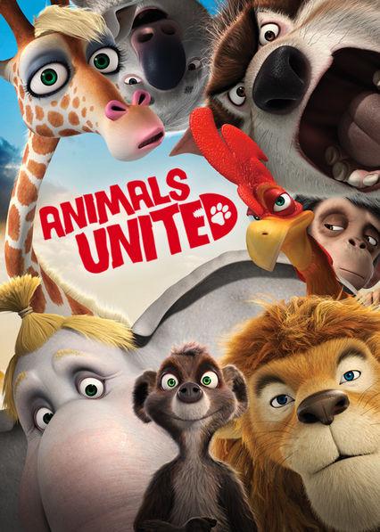 Animals United Netflix BR (Brazil)