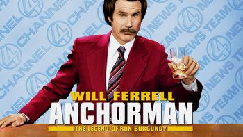 Netflix box art for Anchorman: The Legend of Ron Burgundy