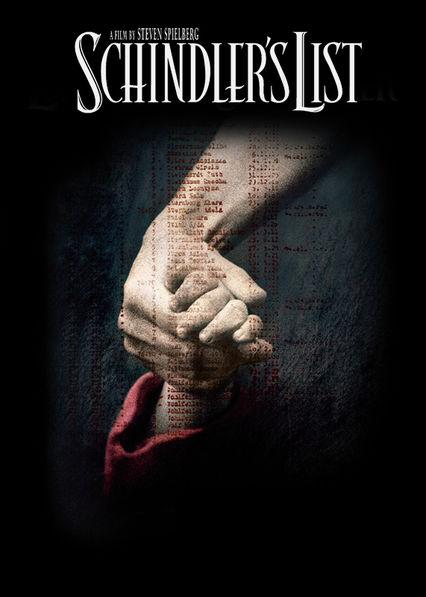 Schindler's List Netflix BR (Brazil)