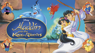 Netflix box art for Aladdin and the King of Thieves