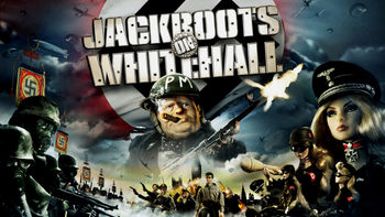 Netflix box art for Jackboots on Whitehall