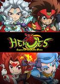 Heroes: Legend of the Battle Disks | filmes-netflix.blogspot.com
