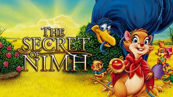 Netflix box art for The Secret of NIMH