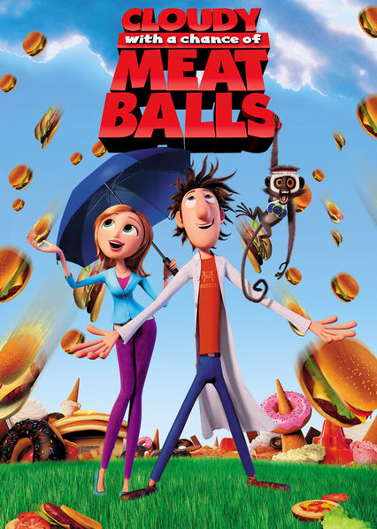 Cloudy with a Chance of Meatballs Netflix AR (Argentina)