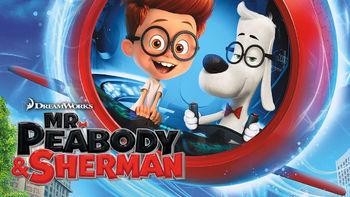 Netflix box art for Mr. Peabody & Sherman