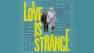 Netflix box art for Love Is Strange