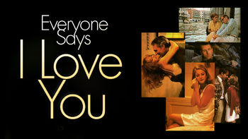 Netflix box art for Everyone Says I Love You