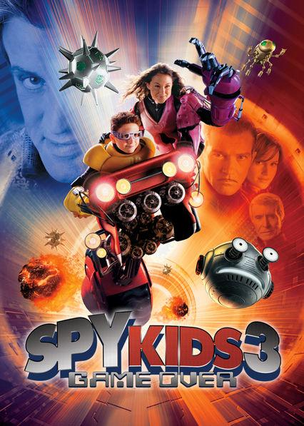 Spy Kids 3: Game Over Netflix UK (United Kingdom)