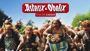 Netflix box art for Asterix & Obelix Take on Caesar