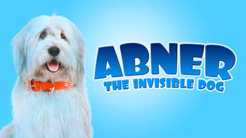Netflix box art for Abner the Invisible Dog