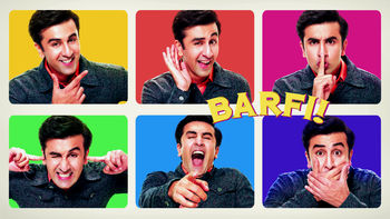 Netflix box art for Barfi!