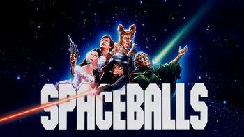 Netflix box art for Spaceballs